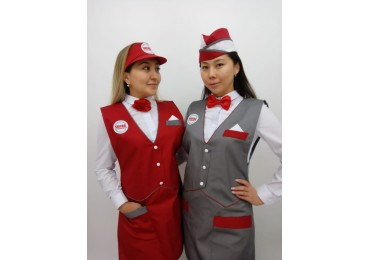 New model seller and cashier