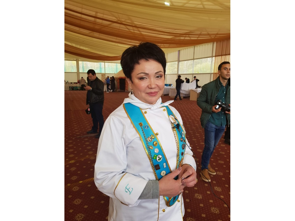 President of the Culinary Association of Kazakhstan