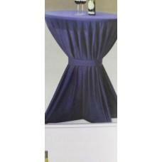 Tablecloth on high tables