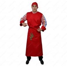 Man's chef's overalls