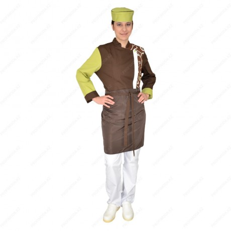 Chef's costume for women