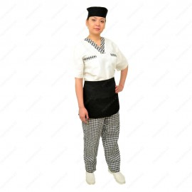 Assistant chef's overalls