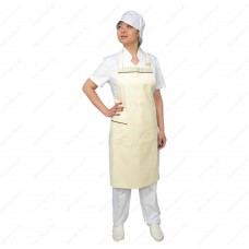 The cook's overalls