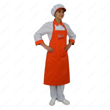 A set of cookery uniforms