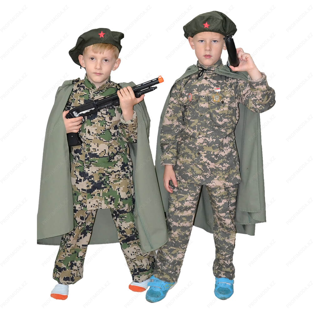 Child soldier costume