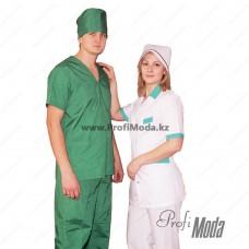 Overalls for masseur