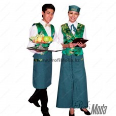 National restaurant uniform