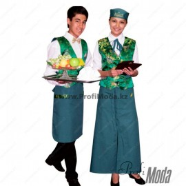 National restaurant uniform