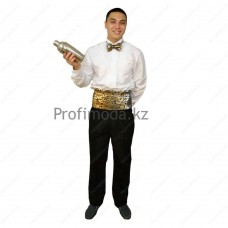 Special clothing for the barman, waiter