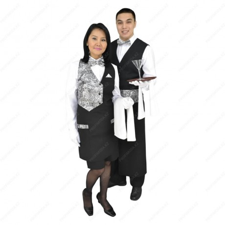 A set of waiter uniforms